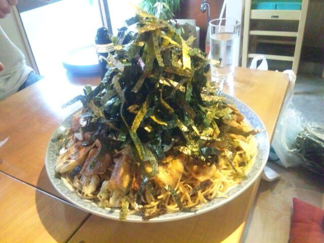 16600069 - やきそばてんてん(埼玉県春日部市)デカ盛り焼きそば爆食オフ会