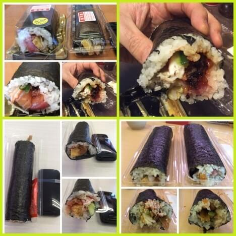 e3ebb4824127524ccf80e4bd24baa1cf - かっぱ寿司vsはま寿司vs魚べいvsスシロー【回転寿司】チェーン店4件7本の恵方巻を食べ比べ【1番旨いのはどこ?】
