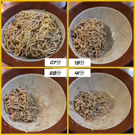 IMG 0048 thumbnail2 - 男気らーめんアカギ(桐生市)【デカ盛り】汁なし麺増しに大苦戦巨大すり鉢を3つ並べる大食い会
