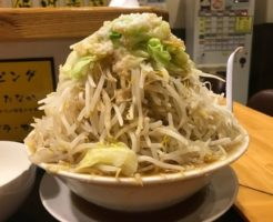 IMG 0475 thumbnail2 246x200 - 麺たなか(埼玉県坂戸市)【デカ盛り】あっさりな二郎系店ですが盛りっぷりは凶悪でした