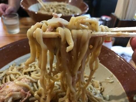 IMG 0796 thumbnail2 - 男気らーめんアカギ(桐生市)【デカ盛り】汁なし麺増しに大苦戦巨大すり鉢を3つ並べる大食い会