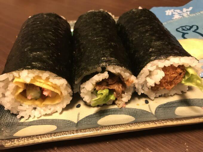 img 6736 - かっぱ寿司&魚べい&がってん寿司【恵方巻】回転寿司チェーン店3件7種食べ比べ最速レポ【大食い】