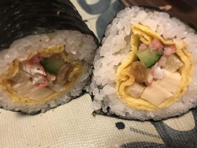 img 6749 - かっぱ寿司&魚べい&がってん寿司【恵方巻】回転寿司チェーン店3件7種食べ比べ最速レポ【大食い】