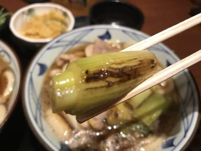 img 7389 - 丸亀製麺(各店)【半額】夜なきうどん鴨ねぎうどんが対象なので大盛り2コ食い【大食い】