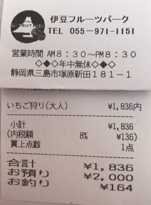 img 8150 - 伊豆フルーツパーク(三島市)【大食い】無制限食べ放題の甘い言葉に隠された罠【いちご狩り】