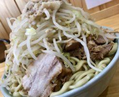 さくら市ラーメン寿々㐂大ラーメン麺マシ700gヤサイマシマシアブラ