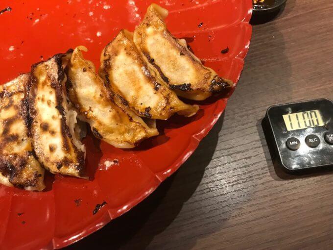 img 8798 - 肉餃子専門店THEGYO(名古屋市)【デカ盛り】肉餃子大食いチャレンジ【完食で無料】