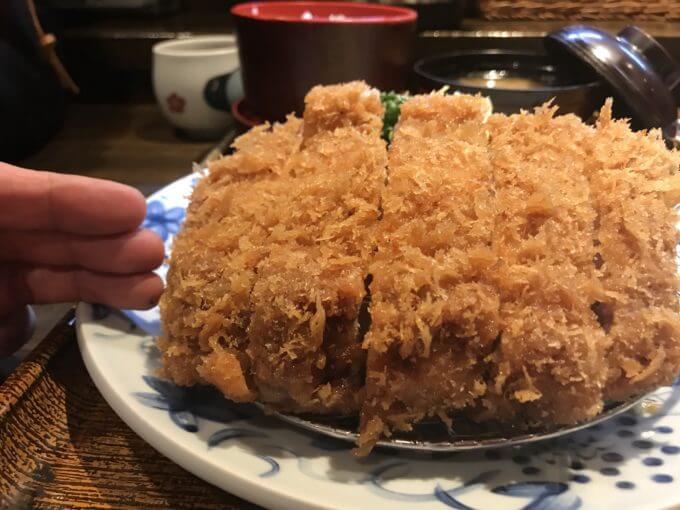 img 0386 - かつ勇(埼玉県上尾市)【大食い】分厚くエロピンクなリブロースと焼きとんかつ2個食い