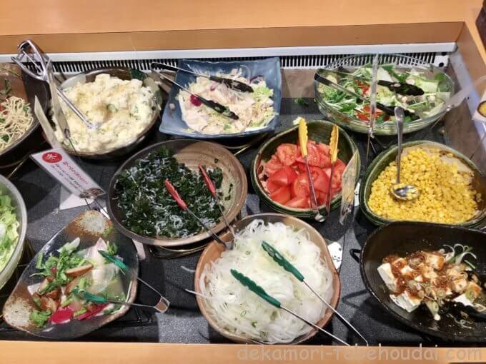 03B7DDB0 7245 4ABA 9B8A F2B7A8D494BC - ブロンコビリー(各店)【食べ放題】サラダバーのみでも超豪華な和え物系惣菜とスイーツ類【大食い】