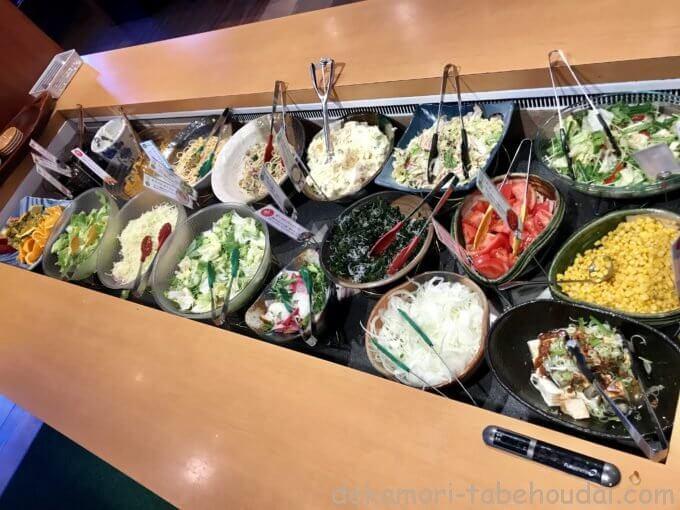 55A2E314 4A12 4BD4 A64D A7F535B174DD - ブロンコビリー(各店)【食べ放題】サラダバーのみでも超豪華な和え物系惣菜とスイーツ類【大食い】