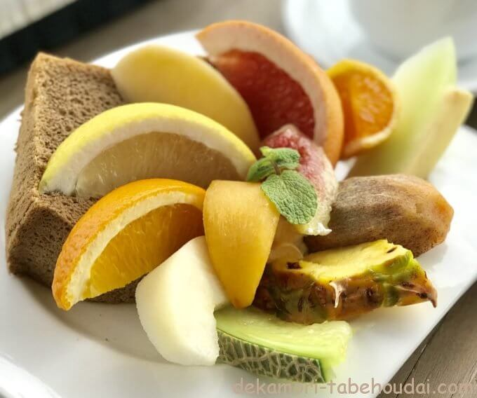 8F1562C5 8C92 44BC 9D9A 0CAC58415FBA - サッチモ(岡崎市)【大食い】フルーツが映える大繁盛神モーニングのおしゃれカフェ