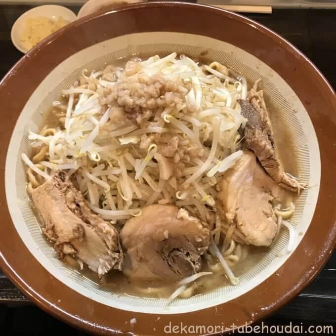 DE519E13 1652 41B2 9364 0E4B49EF269F - ラーメン荘これが好きだから(西宮市)【デカ盛り】豚風味が超濃厚クリーミー乳化スープの大繁盛店ですり鉢麺増し【大食い】