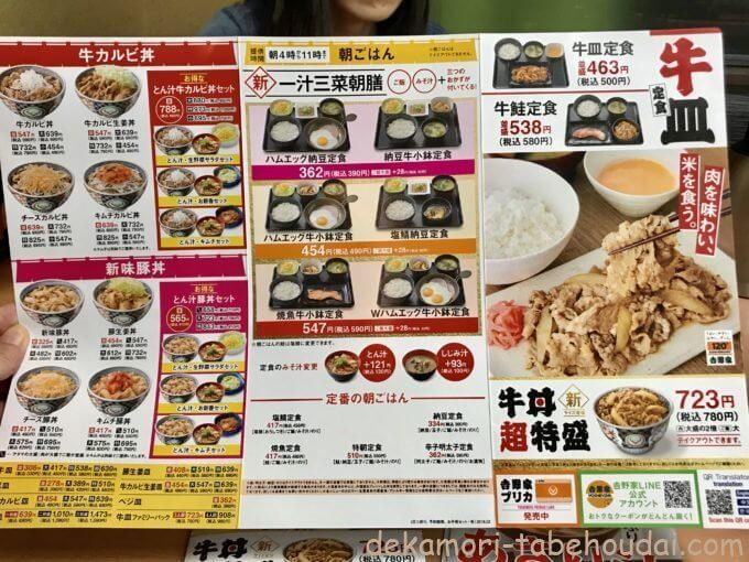 062EC7C4 EC33 48FF 996E D94A5C37D46D - 吉野家(各店)【デカ盛り】ライザップ牛サラダは牛丼?7色のカレーと同時1人大食い実食レポ