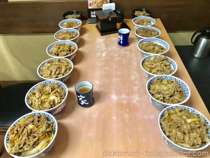 ACA2FDBD DF81 4E64 9071 22FA2530C99E - 吉野家【デカ盛り】牛丼全6サイズ超特盛から新小盛まで量って食べ比べてみた結果